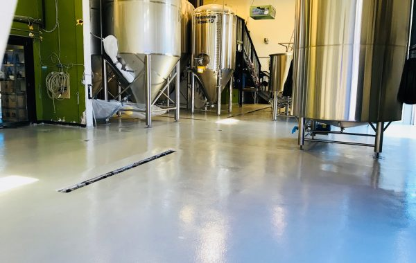 Hoyne Brewing Company (Phase 1) in Victoria, BC. (12,000 sq.ft)