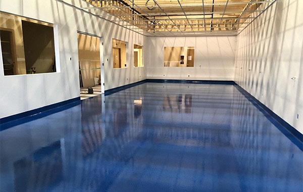 Pharmaceutical Floor Coating in Richmond (3,000 SQ.FT)