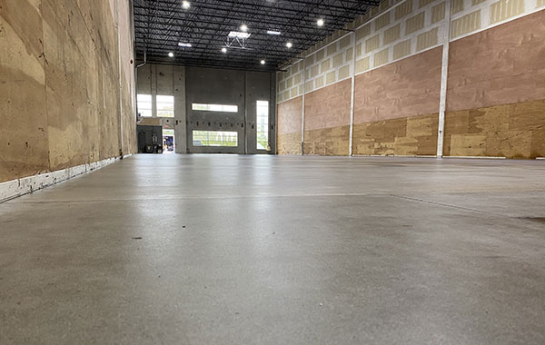 Warehouse Floor Grinding and Sealing in Delta (9,000 SQ.FT)