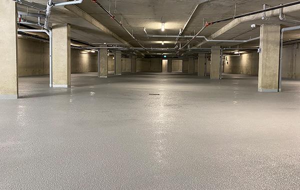 Sahali Ridge Estates Parkade Floor (30,000 sq.ft)